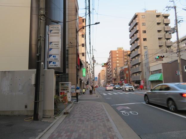 応仁の乱 西陣(上京区)東を見る