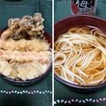 Photos: 五島うどん(゜◯、゜) 天婦羅はてんやダゼ(≧ω・)