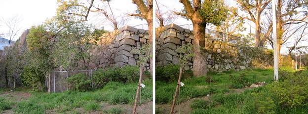 淀城(伏見区淀本町)天守台石垣