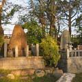 淀城本丸(伏見区淀本町)石碑各種