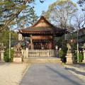 Photos: 淀城(伏見区淀本町)與杼神社境内