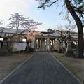 淀城大手門桝形(伏見区淀本町)與杼神社境内