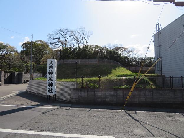 神足神社(勝竜寺城 神足屋敷。長岡京市)