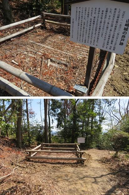 天王山 山崎城(大山崎町)井戸