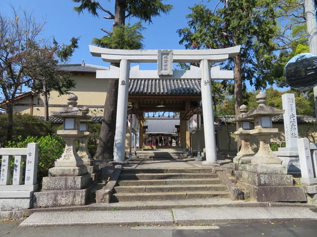 片埜神社(枚方市)南門
