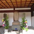 Photos: 崇禅寺(大阪市東淀川区)右、徳叟亨隣和尚墓