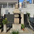 Photos: 島左近供養塔(大阪市淀川区 木川共同墓地)