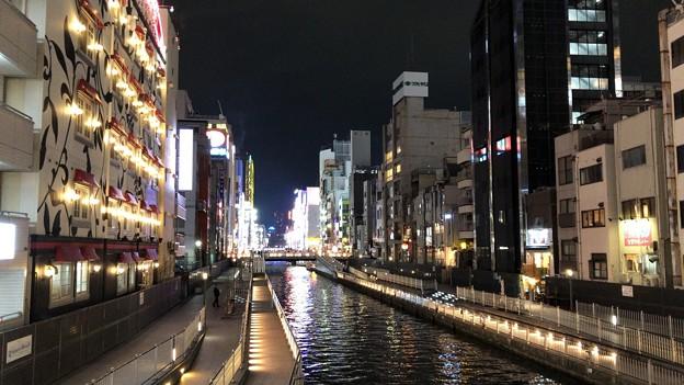 道頓堀川・大黒橋(中央区)