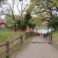 茶臼山・茶臼山古墳(大阪市天王寺区)河底池