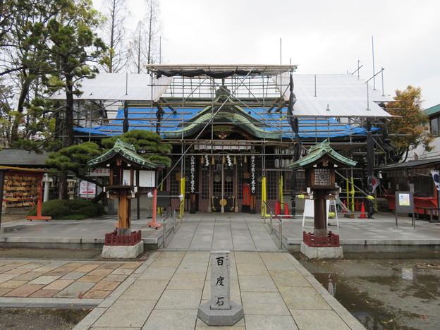 阿部野神社(大阪市阿倍野区)拝殿