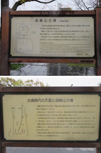 岡山砦・徳川秀忠本陣跡(御勝山古墳。大阪市生野区)