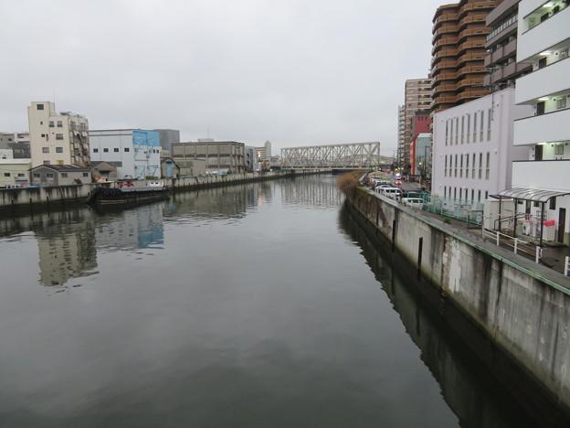 大正橋より(大正区)木津川