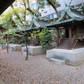 Photos: 坐摩神社(いかすり。大阪市中央区)相殿・天満宮・大国主・繊維・大江