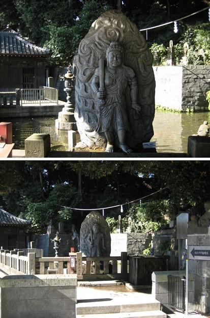 泰叡山瀧泉寺 目黒不動尊(目黒区)水かけ不動
