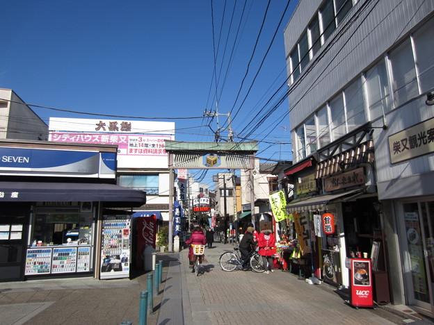 京成金町線 柴又駅前(葛飾区)帝釈天参道