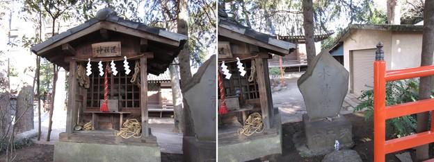 葛西神社(葛飾区)道祖神・水神宮