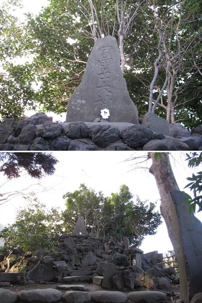 葛西神社(葛飾区)冨士大神