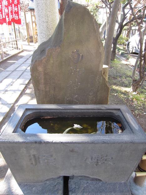 亀有香取神社(葛飾区)御神水