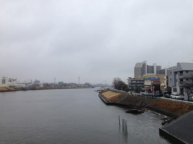 葛西城(葛飾区青戸)中川