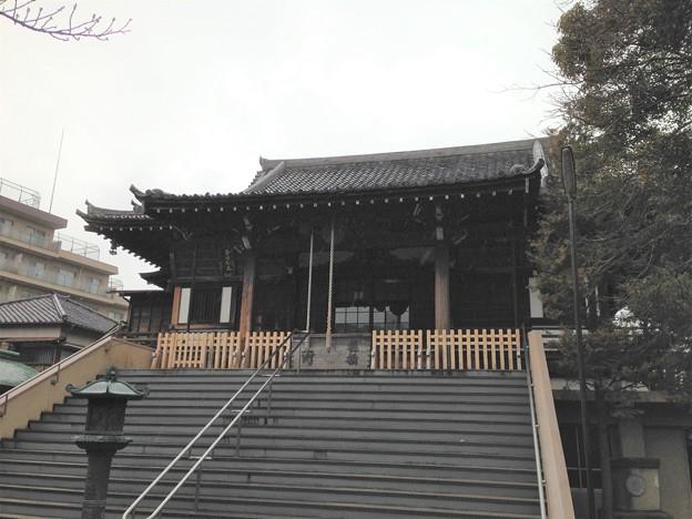 延命寺(葛飾区青戸)本堂