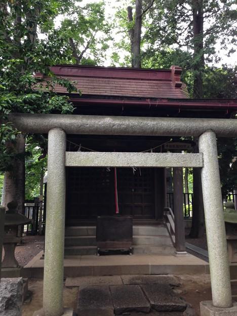 堀ノ内熊野神社(杉並区)稲荷社・第六天社合殿