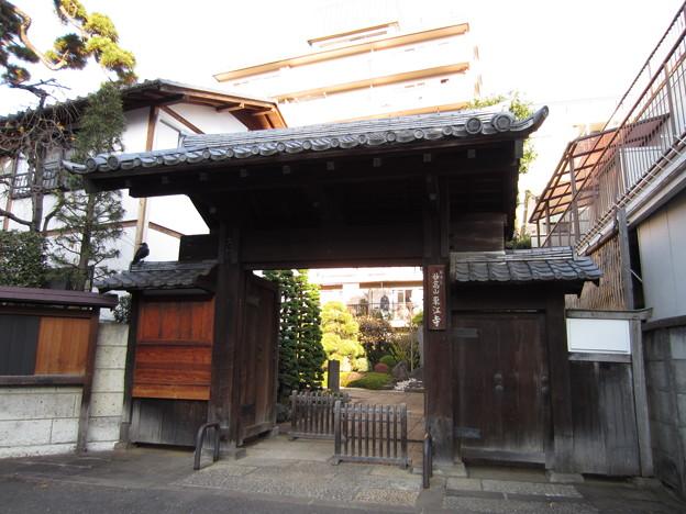 東江寺(渋谷区広尾)山門