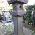 祥雲寺(広尾5丁目)寛文13(1673)年石灯籠
