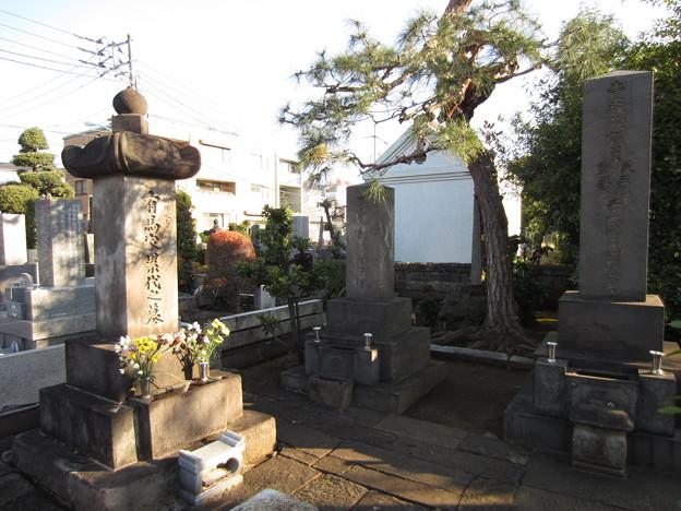 Photos: 祥雲寺(広尾5丁目)吹上藩有馬家墓所