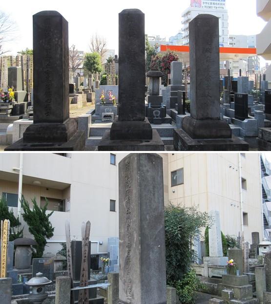 祥雲寺(広尾5丁目)一柳家墓所