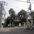 渋谷氷川神社参道(渋谷区東)氷川の杜公園