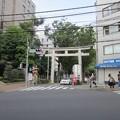 Photos: 金王八幡宮鳥居/渋谷城(渋谷区渋谷)
