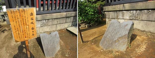 Photos: 金王八幡宮/渋谷城残存石垣(渋谷区渋谷)