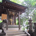 Photos: 金王八幡宮御影堂/渋谷城(渋谷区渋谷)