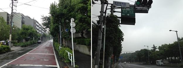 Photos: 鍋島松平肥前守屋敷南東角(渋谷区千駄ヶ谷1丁目)