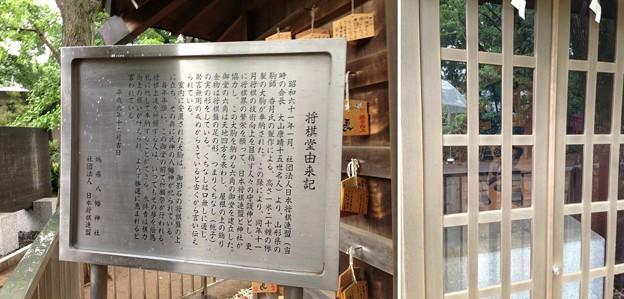 鳩森八幡神社(千駄ヶ谷八幡神社。渋谷区)将棋堂