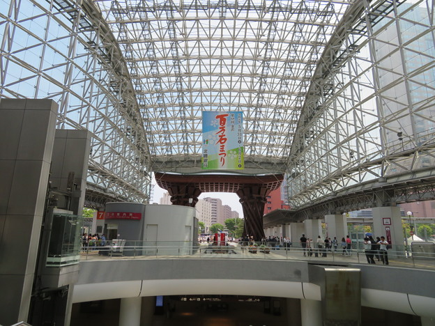 金沢駅 もてなしドーム(石川県)