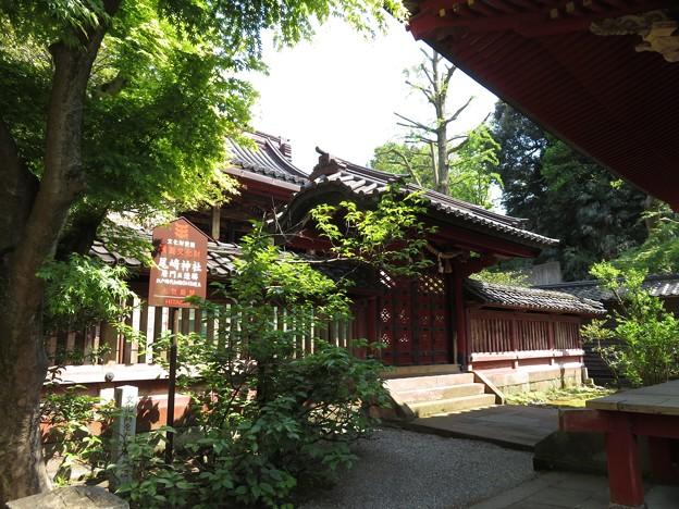 尾崎神社(金沢市)中門(平唐門)・本殿