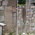 Photos: 金沢城(石川県営 金沢城公園)二の丸隅櫓石垣
