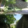 Photos: 金沢城(石川県営 金沢城公園)二の丸水堀・石垣
