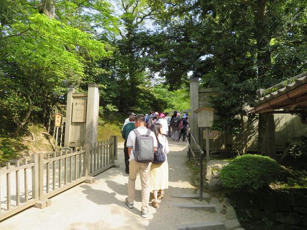 兼六園(金沢市)桂坂入口