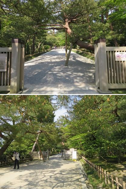 兼六園(金沢市)真弓坂入口