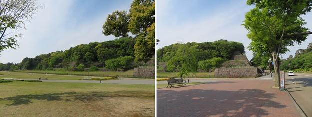 金沢城(石川県営 金沢城公園)鯉喉櫓台 ・東丸辰巳櫓
