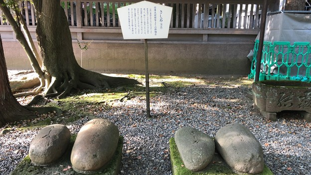 Photos: 尾山神社(金沢市)さし石