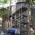 Photos: 尾山神社(金沢市)本殿修繕中