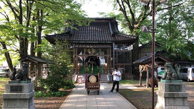 中村神社(金沢市)金沢城二の丸 舞楽殿