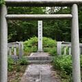 加賀藩前田家墓所(金沢市 野田山墓地)17代利建夫人 政子墓