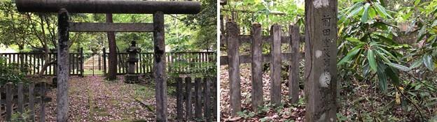 加賀藩前田家墓所(金沢市 野田山墓地)10代重教正室墓