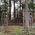 加賀藩前田家墓所(金沢市 野田山墓地)10代重教側室 喜機子墓