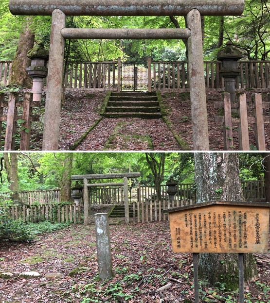 加賀藩前田家墓所(金沢市 野田山墓地)3代利常正室墓