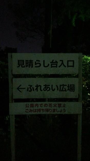 卯辰山見晴らし台(金沢市)
